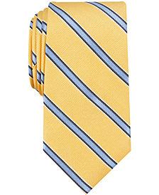 Nautica Men's Gaillard Stripe Slim Silk Tie
