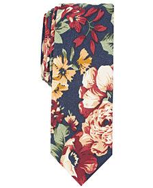 Penguin Men's Calvin Floral Skinny Tie