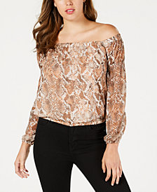 GUESS Off-The-Shoulder Top