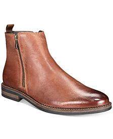 Alfani Men's Aspenn Double-Zipper Boots, Created for Macy's