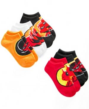 Disney Little Boys 5Pk The Incredibles NoShow Socks