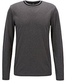 BOSS Men's Long-Sleeve Cotton T-Shirt