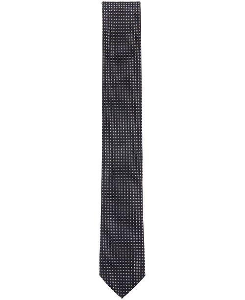b419b37340d1 Hugo Boss BOSS Men s Micro-Check Silk Tie - Ties   Pocket Squares ...