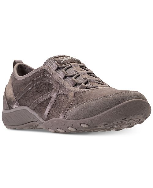 51f4d6a37525 ... Skechers Women s Relaxed Fit  Breathe Easy - Flawless Look Casual  Walking Sneakers from Finish ...
