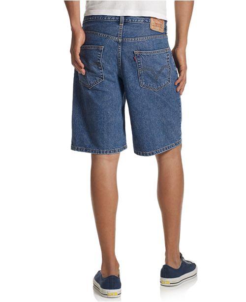 26e5bf41 Levi's Men's 550 Relaxed Fit Denim Shorts & Reviews - Shorts - Men ...