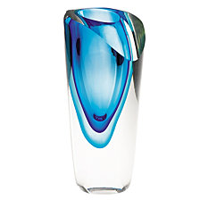 Badash Crystal Azure Vase