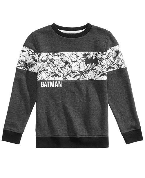 DC Comics Big Boys Batman Graphic Sweatshirt