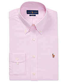 Ralph Lauren Men's Classic Fit Oxford Cotton Dress Shirt