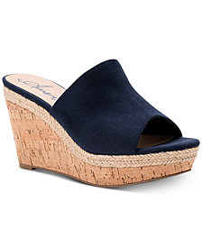 American Rag Shira Platform Wedge Sandals, Created For Macy's