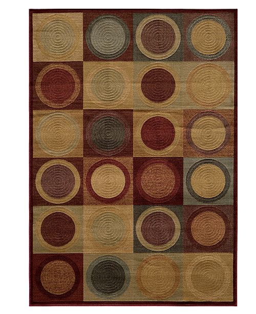 "Momeni CLOSEOUT! Area Rug, Dream DR-06 Red 2' 0"" x 3' 0"""