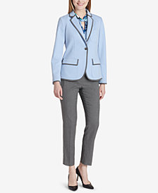 Tommy Hilfiger One-Button Blazer & Slim-Fit Trousers
