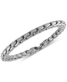 Link Bracelet in Stainless Steel, Created for Macy's