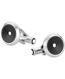 Montblanc Men's Star Stainless Steel Cuff Links
