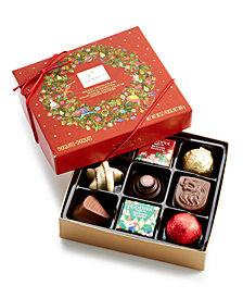 Godiva 9 Piece Holiday Chocolate and Truffle Gift Box