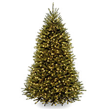 National Tree 6' Dunhill Fir Tree with 600 Clear Lights