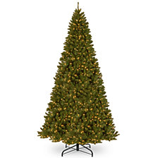 National Tree 16' North Valley Spruce Tree with 2000 Clear Lights