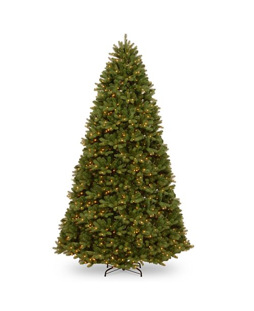 National Tree Company National Tree 9' Feel Real Newberry ™  Spruce Hinged Tree with 1200 Dual Color  LED Lights &  PowerConnect™