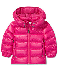 Polo Ralph Lauren Baby Girls Quilted Down Jacket