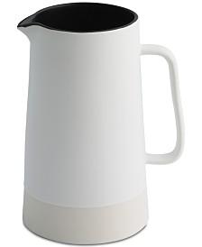 CLOSEOUT! Thirstystone Black Ceramic Pitcher