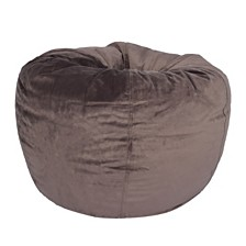 Acessentials Velvet Bean Bag