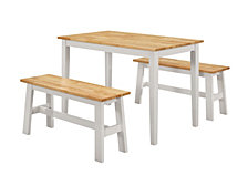 New York Table With Benches