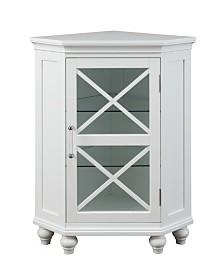 Blue Ridge Corner Floor Cabinet