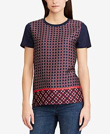 Lauren Ralph Lauren Geo-Print T-Shirt