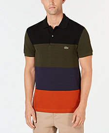 Lacoste Men's Colorblocked Piqué Polo