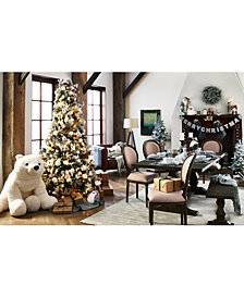 Holiday Lane Let It Snow Decor Collection, Created for Macy's