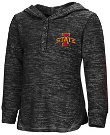 Iowa State Cyclones Hooded Long Sleeve Henley T-Shirt, Toddler Girls (2T-4T)