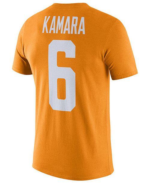 check out e9629 00cc5 Men's Alvin Kamara Tennessee Volunteers Future Star Replica T-Shirt