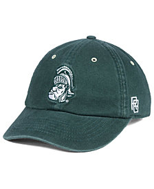Retro Brand Michigan State Spartans Retro Washed Strapback Cap