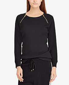 Lauren Ralph Lauren Printed Cotton Long-Sleeve T-Shirt
