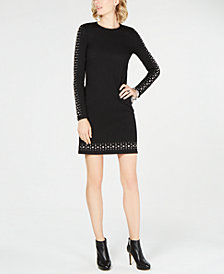 MICHAEL Michael Kors Embellished Sheath Dress in Regular & Petite Sizes