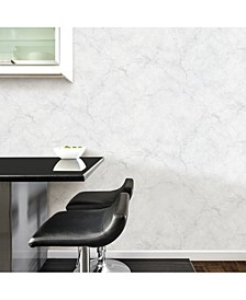 Carrara Marble Peel and Stick Wallpaper