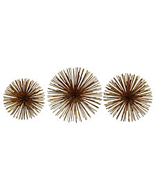 Rocchio Gold Starburst Wall Art
