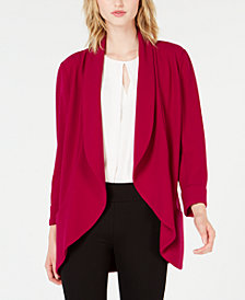 Bar III Shawl-Collar Open Jacket, Created for Macy's