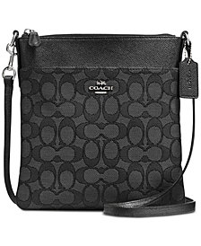 COACH Signature Messenger Crossbody