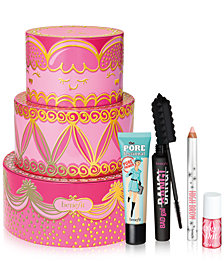 Benefit Cosmetics 4-Pc. Limited Edition Triple Decker Decadence Gift Set. A $89 Value!