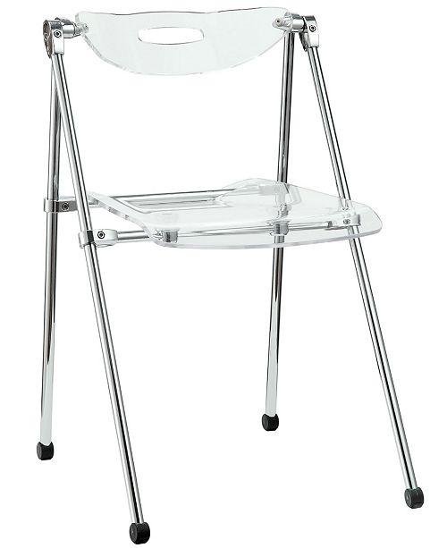 Modway Telescope Folding Chair