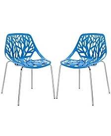 Modway Stencil Dining Side Chair Set of 2