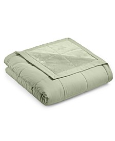 CLOSEOUT! Down Alternative Reverse to Plush Full/Queen Blanket, Created for Macy's