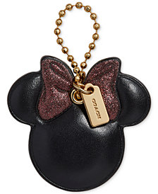 COACH Minnie Mouse Pink Bow Boxed Hangtag