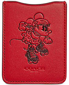 COACH Minnie Mouse Rollerskate Pocket Phone Sticker
