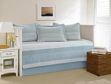 Nautica Banded Stripe Shimmering Sea Daybed Set