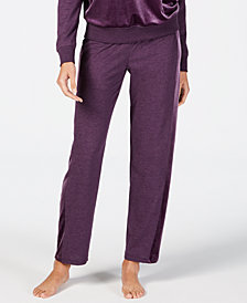 Alfani Velvet-Trim Pajama Pants, Created for Macy's