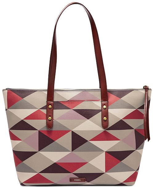 Fossil Jayda Printed Tote