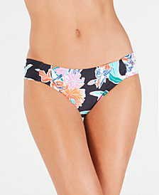 Trina Turk Tropic Waves Shirred Side Hipster Bottoms