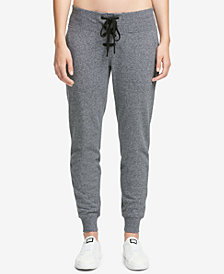 DKNY Sport Lace-Up Fleece Joggers