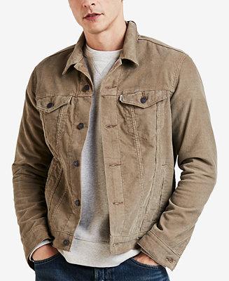Levi S Men S Corduroy Trucker Jacket Coats Amp Jackets